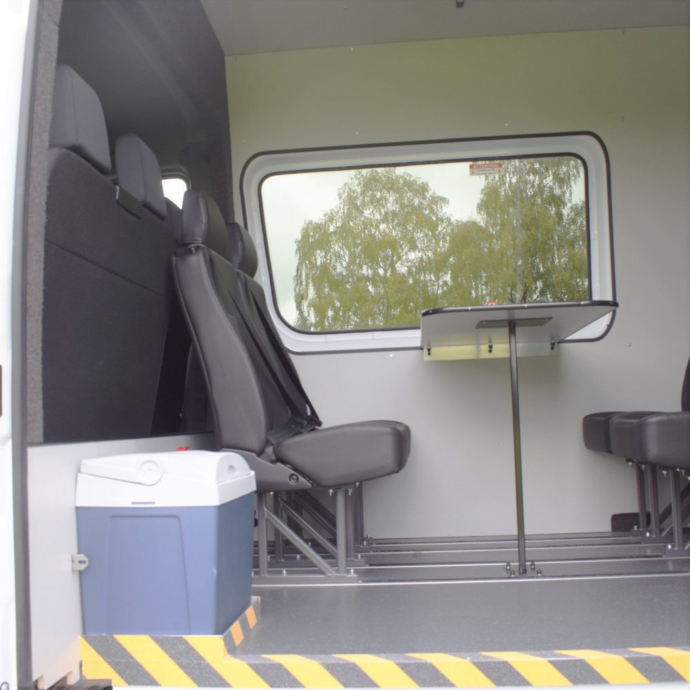 Premier-eco welfare van hire